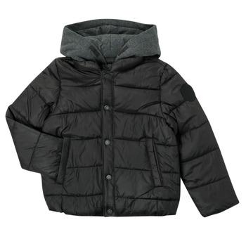 Clothing Boy Duffel coats Ikks CORAIL Black