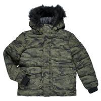 Clothing Boy Jackets Ikks EMERAUDE Kaki