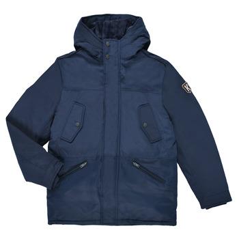 Clothing Boy Parkas Ikks GRENADINE Marine