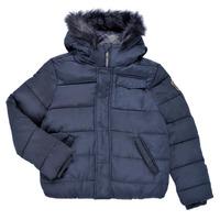 Clothing Boy Duffel coats Ikks MAGENTA Marine