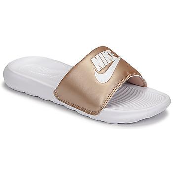 Shoes Women Sliders Nike W NIKE VICTORI ONE SLIDE Brown