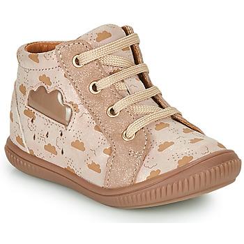 Shoes Girl Hi top trainers GBB MASHA Beige