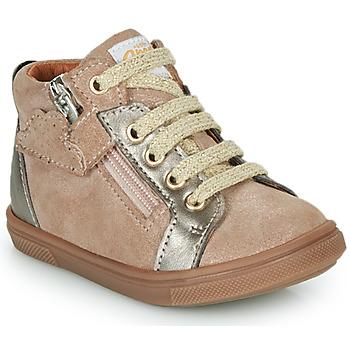 Shoes Girl Hi top trainers GBB VALA Beige