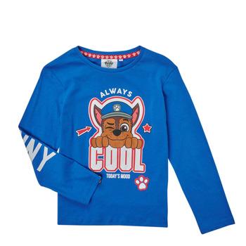 Clothing Boy Long sleeved tee-shirts TEAM HEROES  TEE PAW PATROL Blue