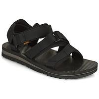 Shoes Men Sandals Teva M Cross Strap Trail BLACK Black