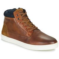 Shoes Men Hi top trainers Redskins FILAIRE Cognac