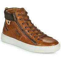 Shoes Men Hi top trainers Redskins HOPESO Cognac