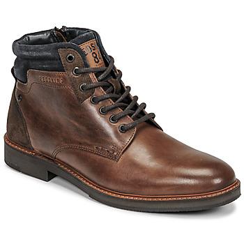 Shoes Men Mid boots Redskins JABOR Brown