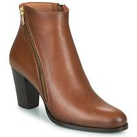 Shoes Women Ankle boots Fericelli POMIO Tan
