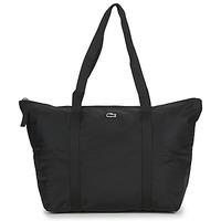 Bags Women Shopping Bags / Baskets Lacoste JEANNE LARGE Black