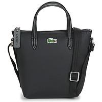 Bags Women Shoulder bags Lacoste L.12.12 CONCEPT CROSSBODY Black