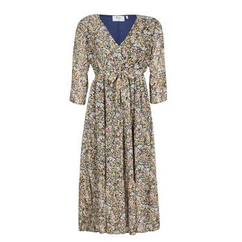 Clothing Women Long Dresses Betty London  Multicolour