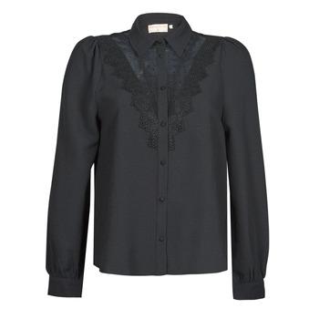 Clothing Women Shirts Moony Mood ABBECOURS Black