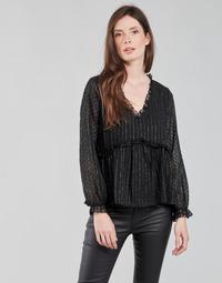 Clothing Women Tops / Blouses Moony Mood ABBENANT Black