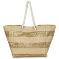 Betty London  -  womens Shopper bag in Gold
