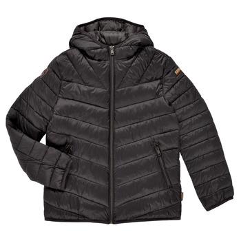 Clothing Boy Duffel coats Napapijri AERONS Black