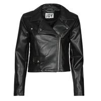 Clothing Women Leather jackets / Imitation leather JDY JDYETTA Black