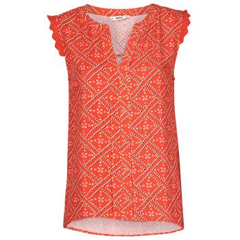Clothing Women Tops / Blouses Only ONLVIOLETTE Orange