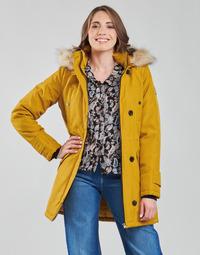 Clothing Women Parkas Vero Moda VMEXCURSIONEXPEDITION Mustard
