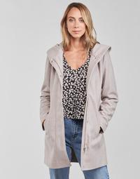 Clothing Women Coats Vero Moda VMDAFNEDORA Beige
