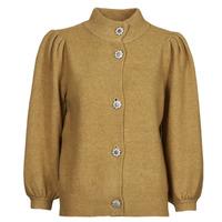 Clothing Women Jackets / Cardigans Vero Moda VMKARNA Brown