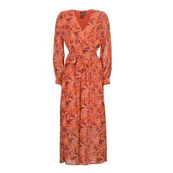 Clothing Women Long Dresses Vero Moda VMFLOW Red