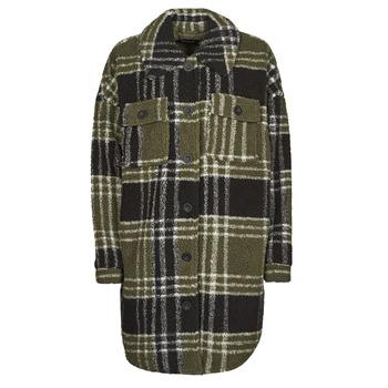 Clothing Women Jackets / Blazers Only ONLNEWCAMILLA Kaki / Black