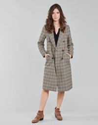 Clothing Women Coats Only ONLZOEZUE Brown