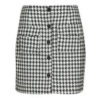Clothing Women Skirts Moony Mood PABLEIGES Black / White