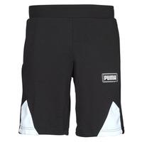 Clothing Men Shorts / Bermudas Puma RBL SHORTS Black / White