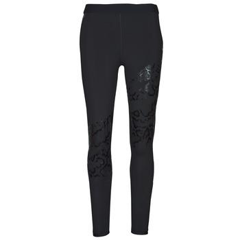Clothing Women Leggings Puma UNTAMED PRINT TIGHT Black