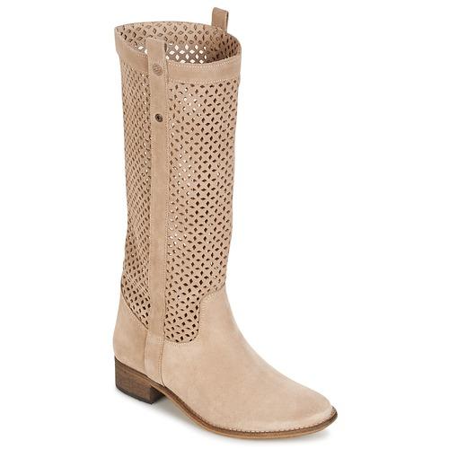 Shoes Women High boots Betty London DIVOUI Beige