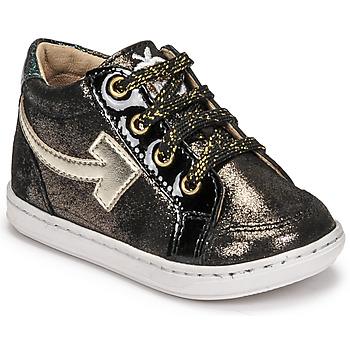 Shoes Girl Hi top trainers Shoo Pom BOUBA ARROW Black