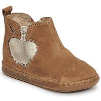 Shoes Girl Mid boots Shoo Pom BOUBA NEW APPLE Brown