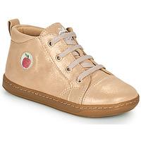 Shoes Girl Hi top trainers Shoo Pom BOUBA ZIP LACE Pink