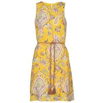 Clothing Women Short Dresses Desigual ADRIANA Multicolour