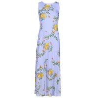 Clothing Women Long Dresses Desigual MIAMI Multicolour