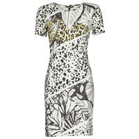 Clothing Women Short Dresses Desigual WILD Multicolour