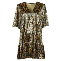 Clothing Women Short Dresses Desigual PINEDA Multicolour