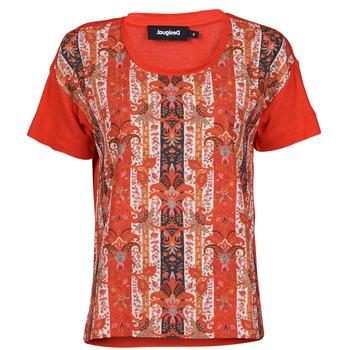 Clothing Women Short-sleeved t-shirts Desigual LOMBOK Multicolour