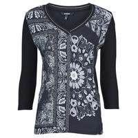 Clothing Women Short-sleeved t-shirts Desigual VARSOVIA Multicolour