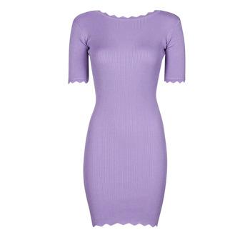 Clothing Women Short Dresses Yurban PAULINO Lilac