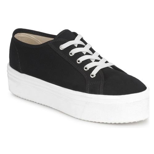 Shoes Women Low top trainers Yurban SUPERTELA Black