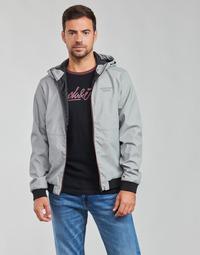 Clothing Men Jackets Jack & Jones JJESEAM Grey