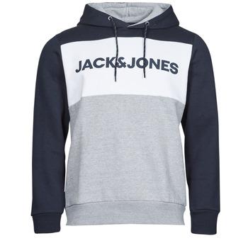 Clothing Men Sweaters Jack & Jones JJELOGO Marine