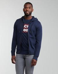 Clothing Men Sweaters Jack & Jones JJEBASIC Marine