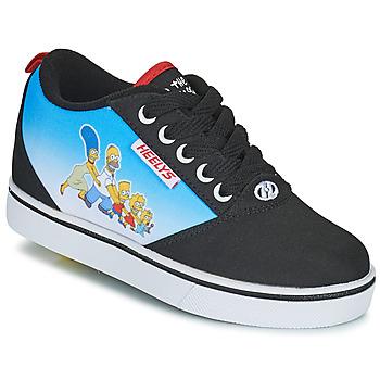 Shoes Children Wheeled shoes Heelys PRO 20 PRINTS Black / Blue / Multicolour