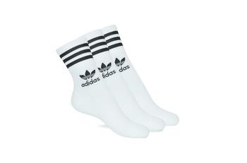 Shoe accessories High socks adidas Originals MID CUT CRW X 3 White