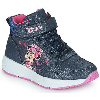 Shoes Girl Hi top trainers Disney MINNIE Black
