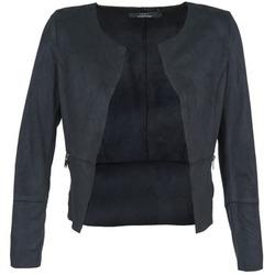 Clothing Women Leather jackets / Imitation leather Only KIM MARINE